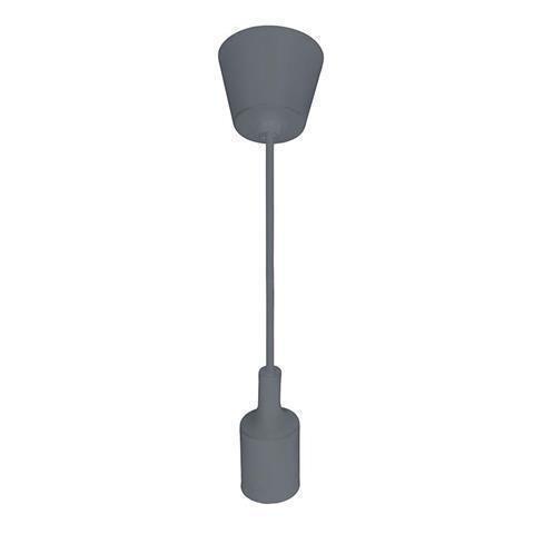 Подвесной светильник Volta серого цвета