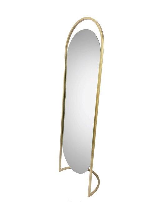 Напольное зеркало Мюрей на металлическом каркасе