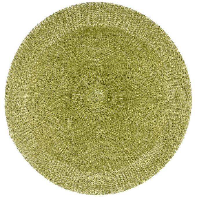 Салфетка под тарелку Quinn зеленого цвета