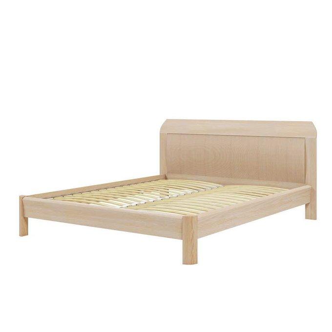 Кровать Магна 160х200 бежевого цвета