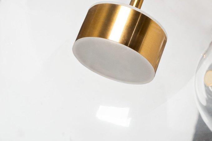 Светильник подвесной Прозрачные шары из стекла