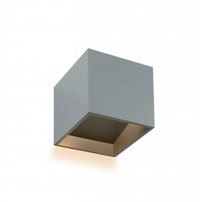 Настенный светильник Dice серого цвета