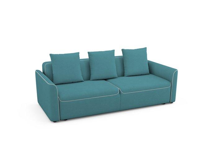 Диван-кровать Erding бирюзового цвета