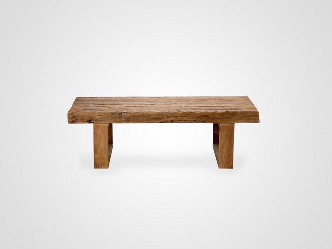 Стол кофейный (тик) прямоугольный ииз состаренного тика