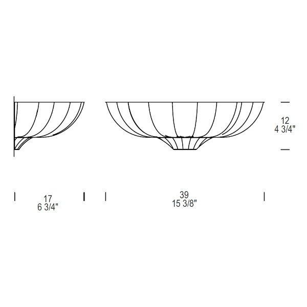Настенный светильник Leucos PASCALE