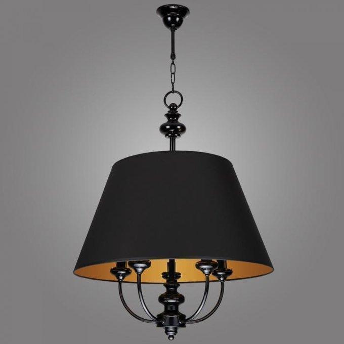 Подвесная люстра Labrado с черным абажуром