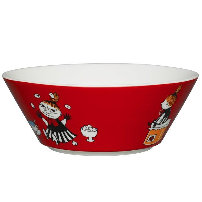 Пиала Moomin Малышка Мю Красная