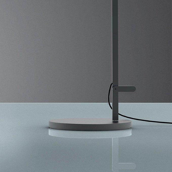 Основание под светильник из окрашенного алюминия