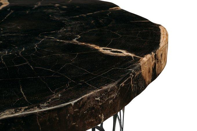 Журнальный стол Бинтау из окаменелого дерева 381149