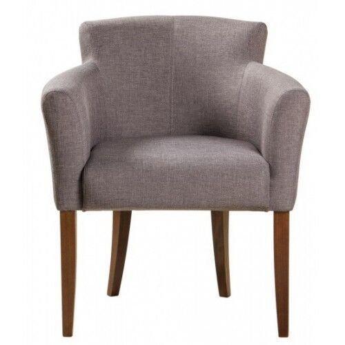 Кресло-стул Джером серого цвета