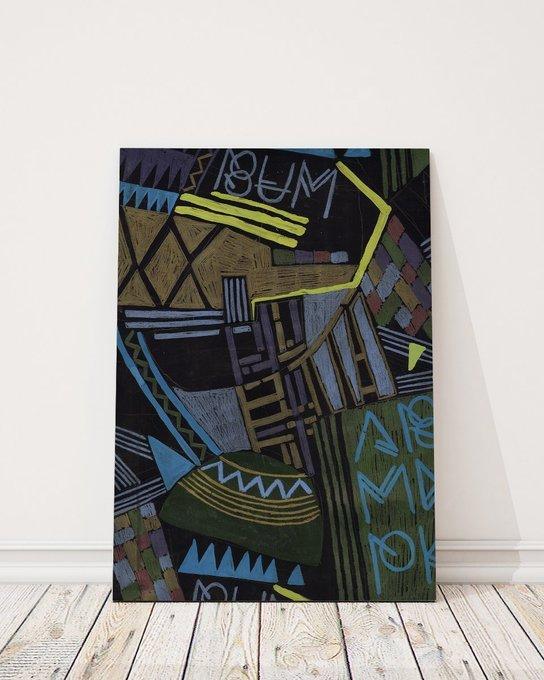 Постер BUM! на холсте