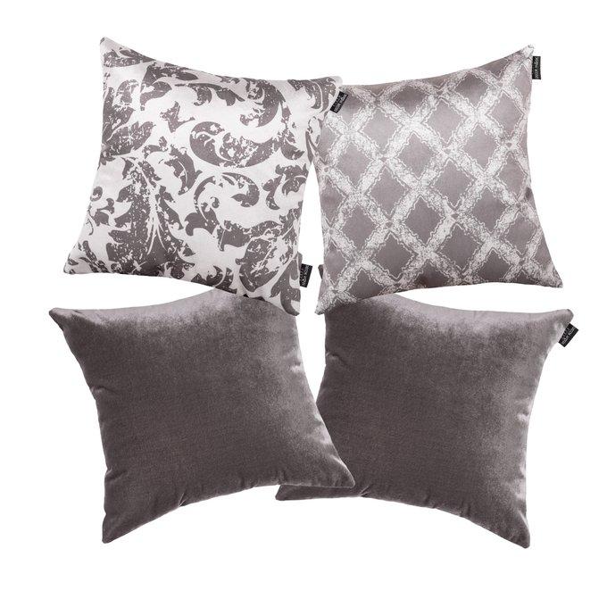 Комплект чехлов для подушек Lux Antre/Visoni grey