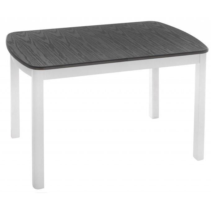 Обеденный раскладной стол Carbi с серой столешницей