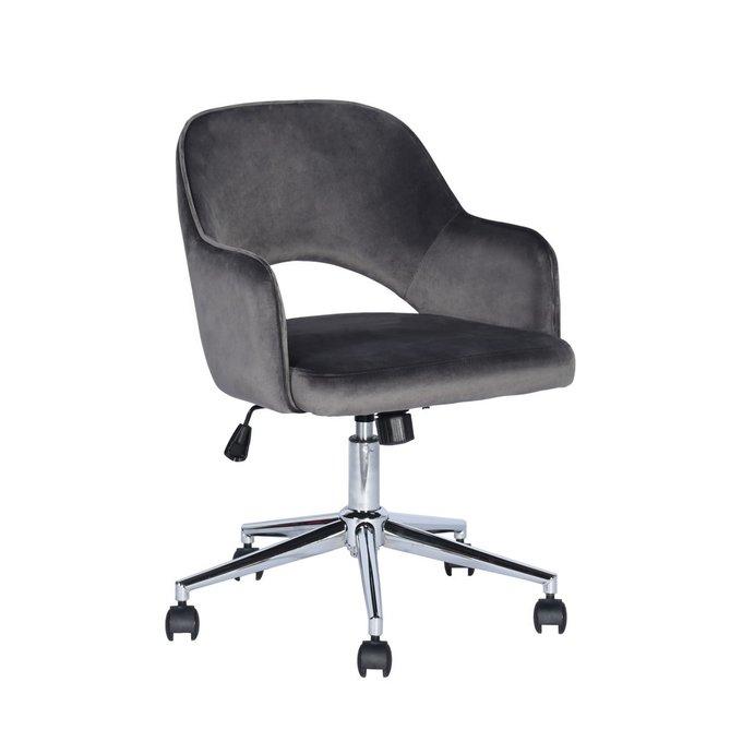 Кресло офисное Кларк серого цвета