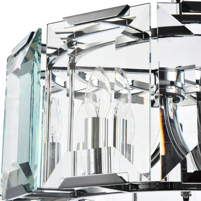 Люстра Cerezo из стеклянных пластин