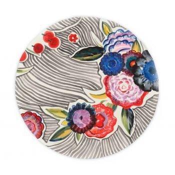 Тарелка Flower market 1 из фаянса