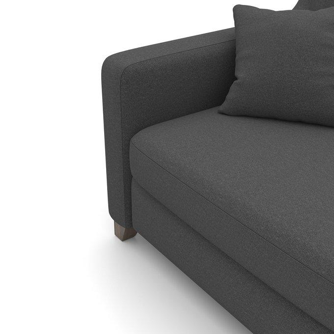 Диван Mendini MT (204 см) темно-серого цвета