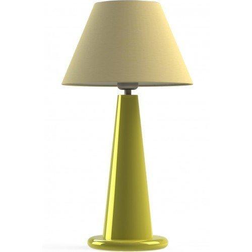 Настольная лампа Conum желтая