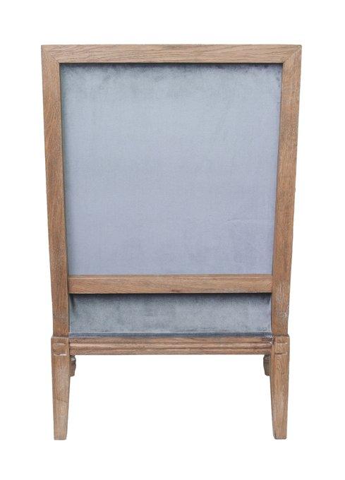 Классическое кресло Coolman серого цвета