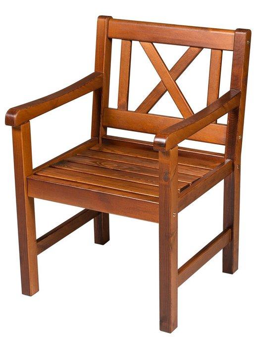 Кресло Onsala из массива сосны