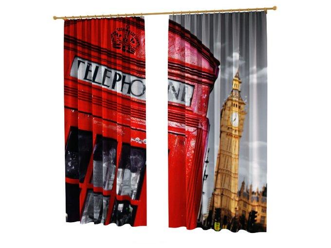 Шторы с фотопечатью: Связь с Лондоном