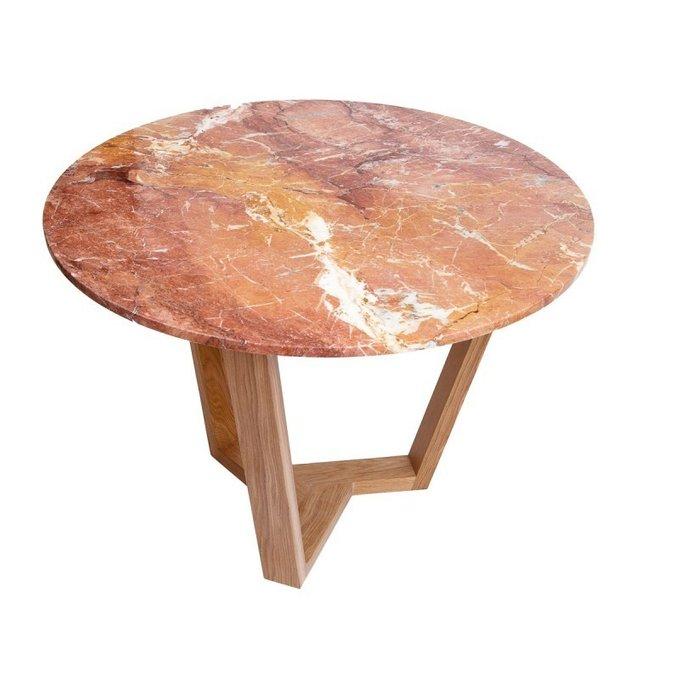 Обеденный стол Round Brown