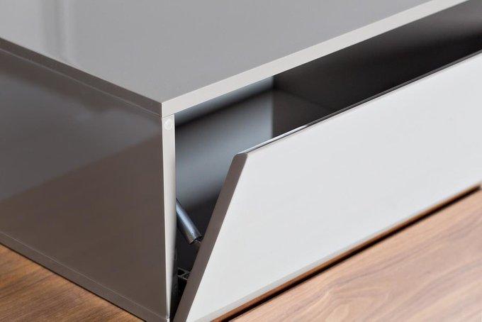 Тумба под ТВ с двумя выдвижными ящиками