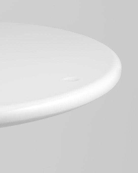 Барный стол Малибу белого цвета