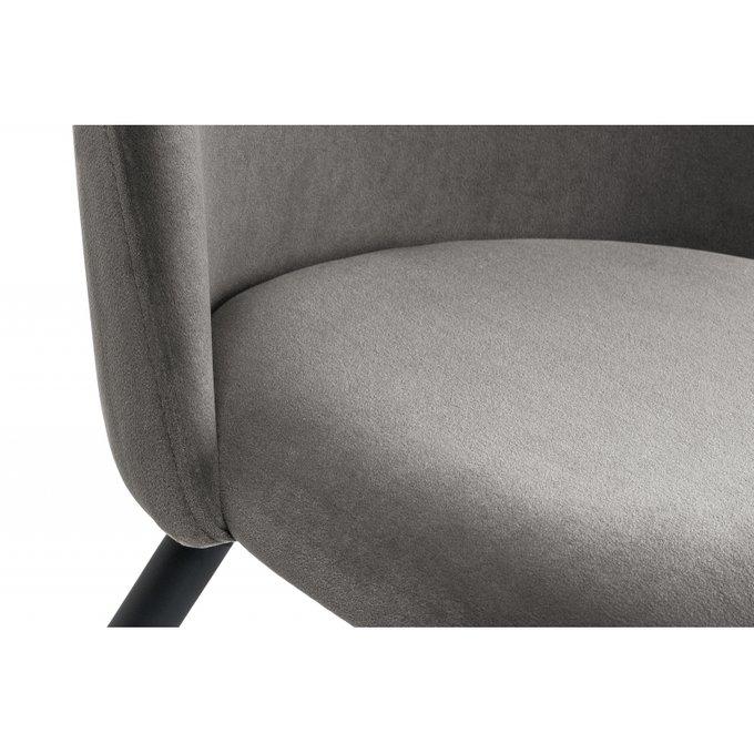 Обеденный стул Vels темно-серого цвета