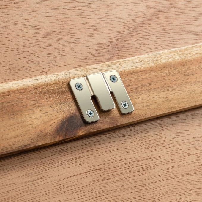 Изголовье кровати Wing headboard из массива дерева