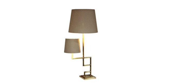 Настольная лампа Close (золото)