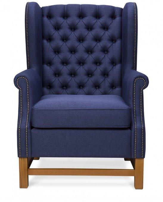 Кресло Jerome темно-синего цвета