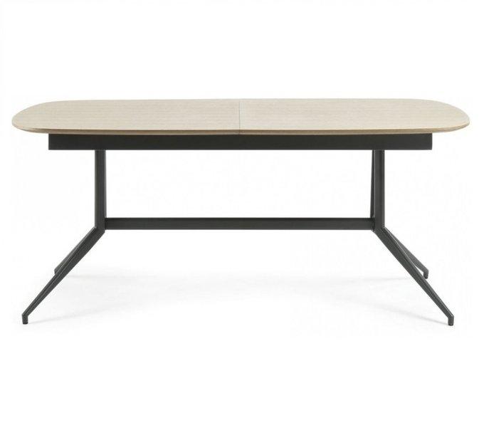Раскладной обеденный стол Version cкаркасом из металла