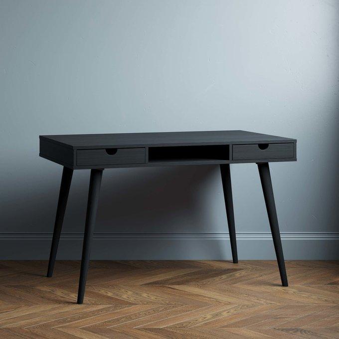 Письменный стол Scandinavia 120x60 с белыми ящиками