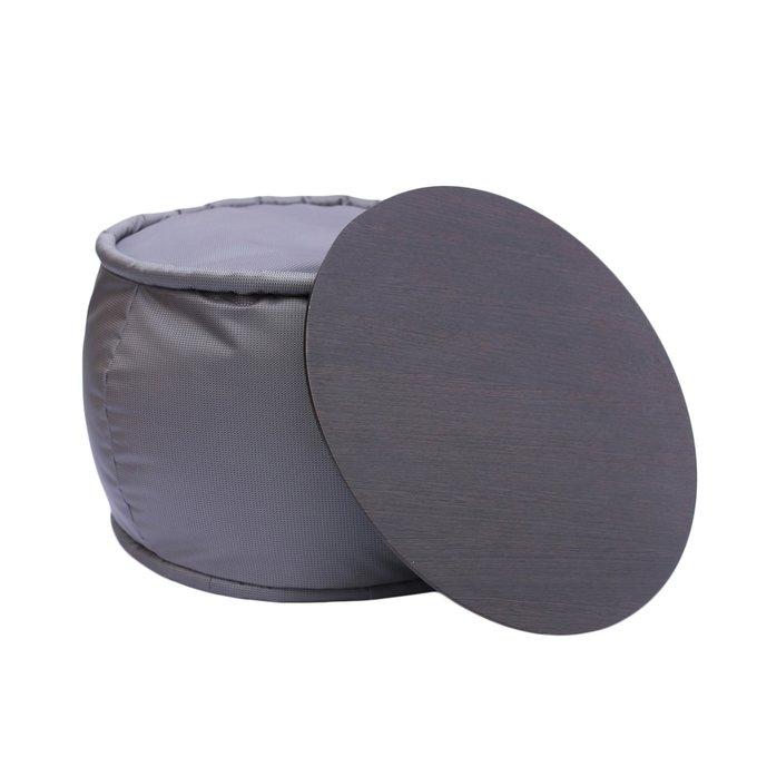 Круглый пуф со столиком