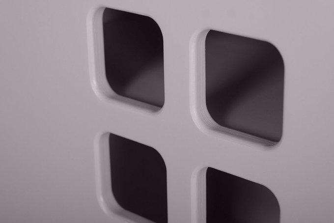 Стеллаж-домик City3 цвета туман