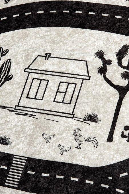 Детский ковер на противоскользящей основе 100x160