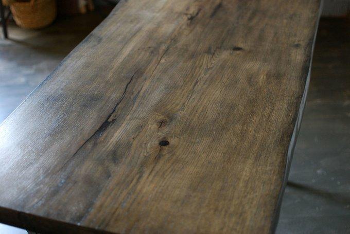 "Обеденный стол ""Loft Oak Brown"""