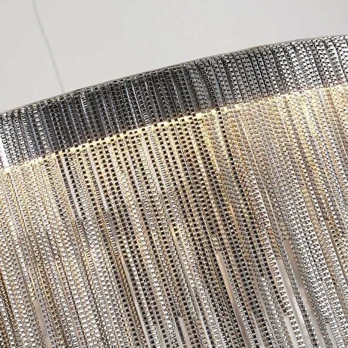 Подвесная люстра Versus с металлическими цепочками