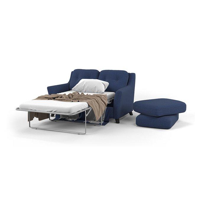 Диван-кровать Raf SF двухместный синего цвета