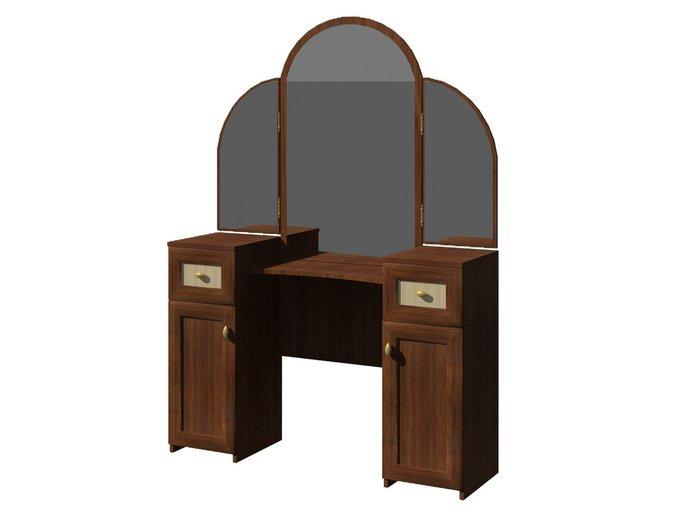 Стол туалетный с зеркалом Милена 1