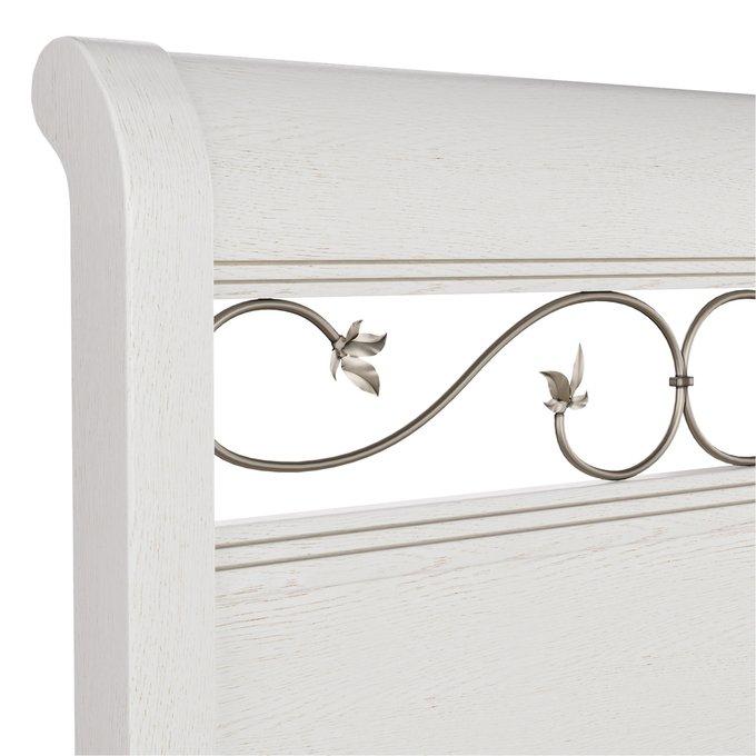 Кровать Белладжио 160х200 с легким цветочным орнаментом