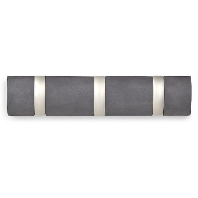 Вешалка Flip настенная горизонтальная с тремя крючками 15