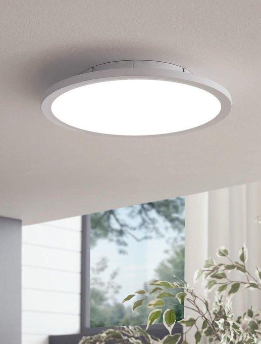 Потолочный светодиодный светильник Sarsina-C белого цвета