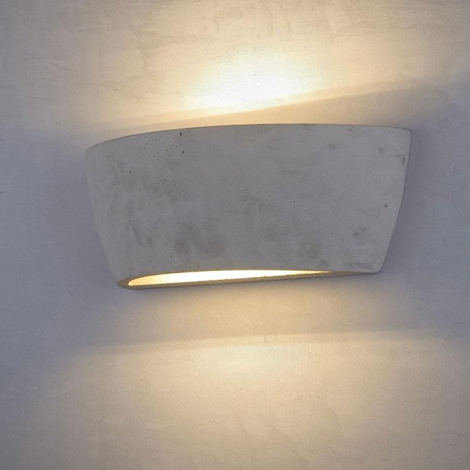 Настенный светодиодный светильник Loft IT Concrete серого цвета
