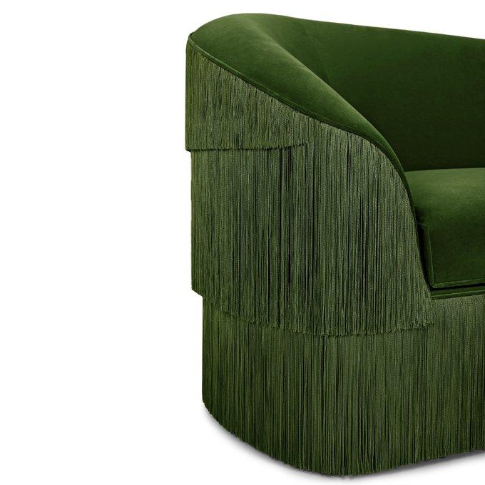 Диван Munna зеленого цвета