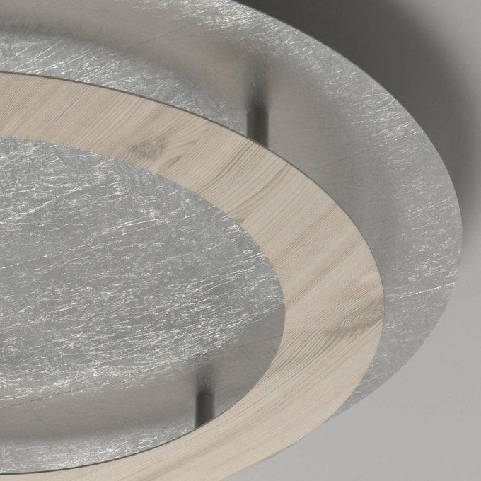 Потолочный светодиодный светильник Иланг цвета серебра