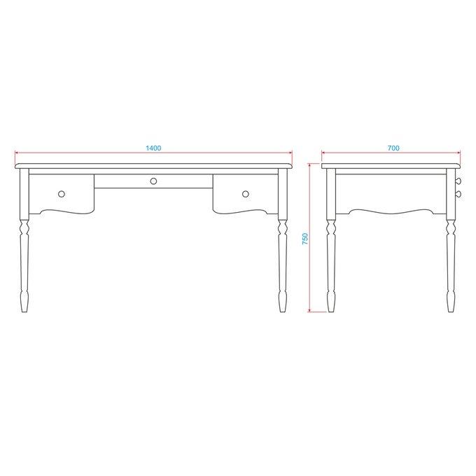 Кабинетный стол Leblanc