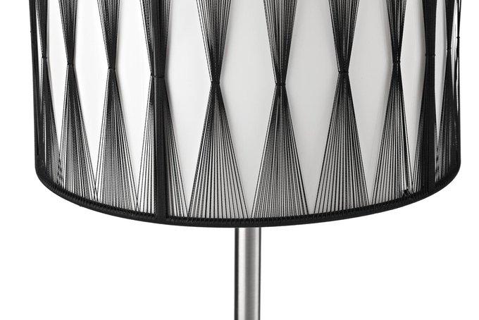 Настольная лампа Ortana с абажуром из ткани