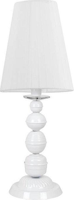 Настольная лампа Bianco белого цвета